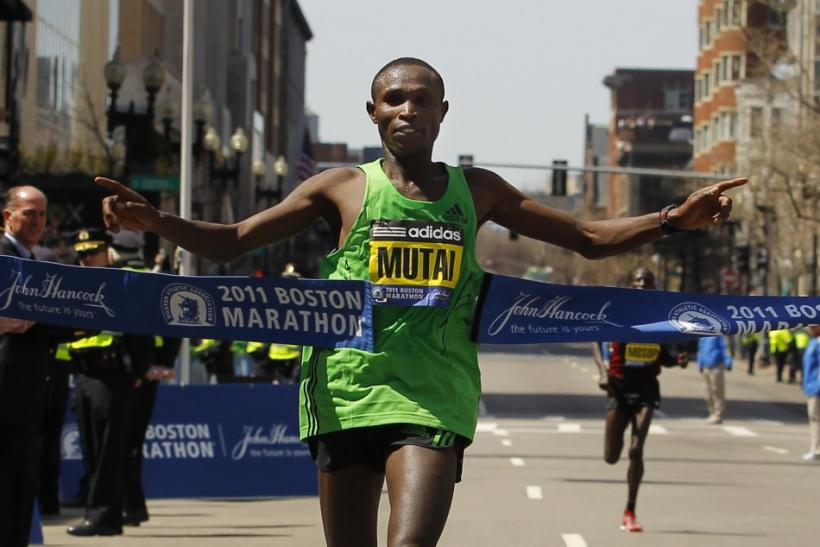 The Boston Marathon will be run tomorrow in temperatures approaching 90 degrees.
