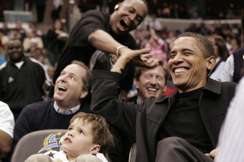 Barack Obama, Wizards fan