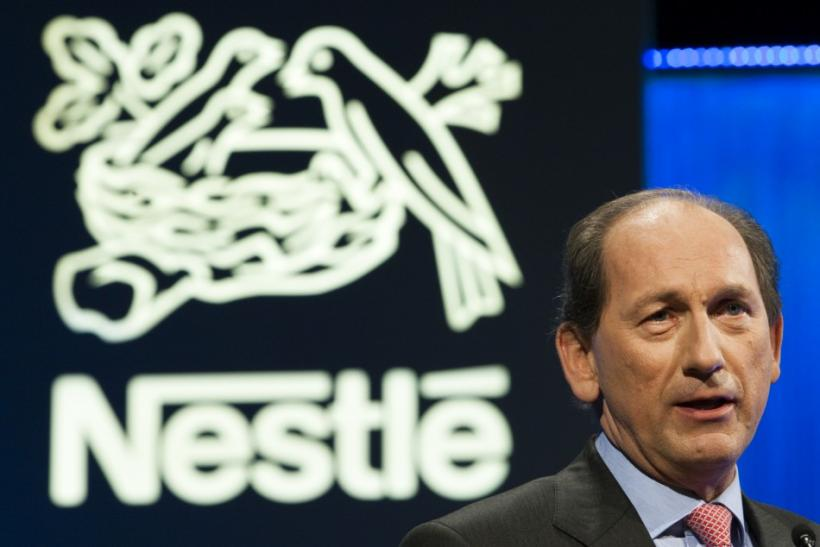 Nestle CEO Paul Bulcke
