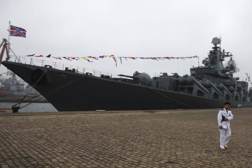 The Russian Missile Cruiser Varyag