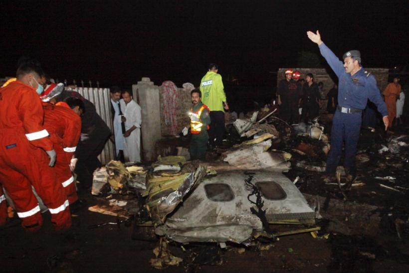 Pakistan Plane Crash 2012