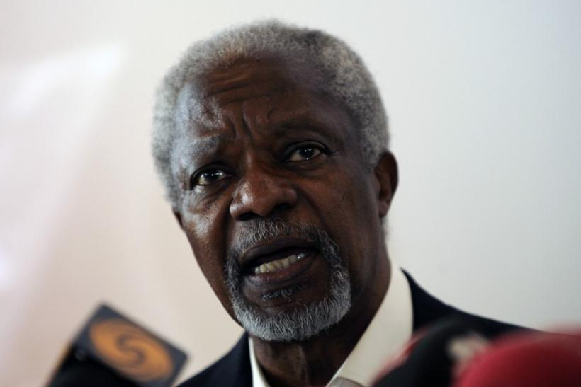 UN special envoy Kofi Annan is to meet Syrian President Bashar al-Assad in Damascus in an effort to salvage his peace plan