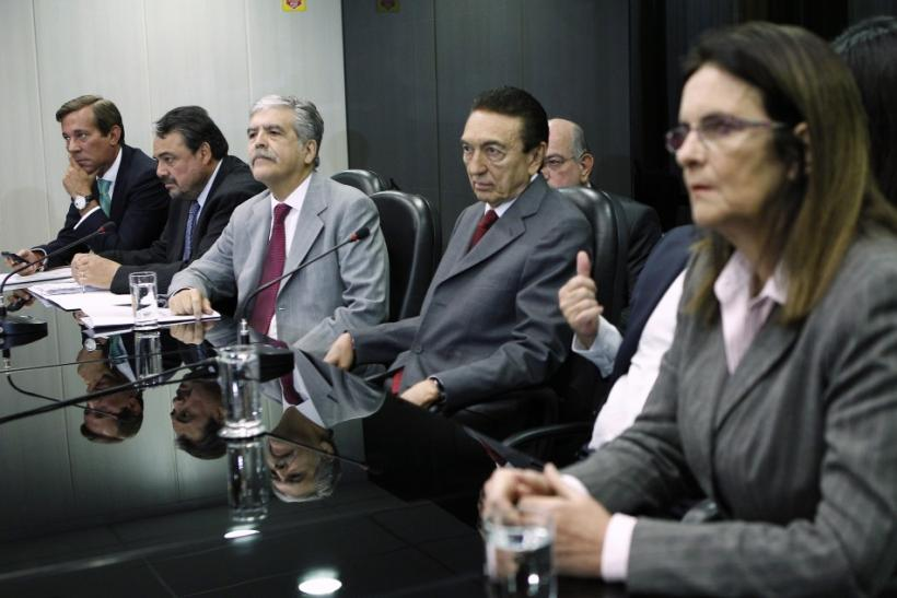 Argentina's Planning Minister De Vido attends meeting with Brazil's Energy Minister Lobao