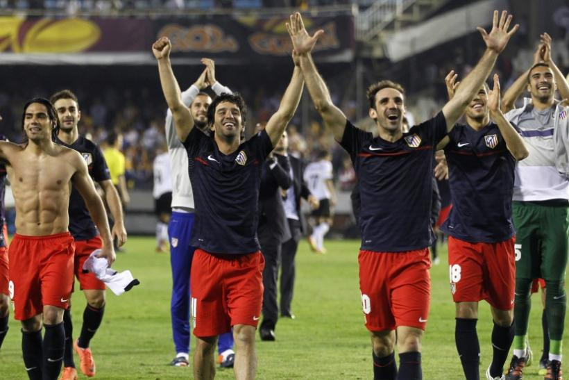 Watch highlights of Valencia Vs. Atletico Madrid in the Europa League semi-final, second-leg.