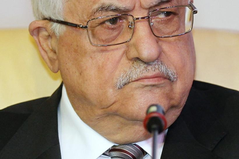 Palestinian President Mahmoud Abbas attends the opening of the International Conference on Jerusalem in Doha.