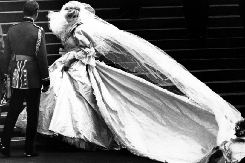 Princess Diana in Wedding Dress