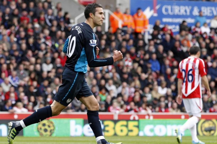 Watch highlights of Arsenal Vs. Stoke from the Brittania Stadium in the Premier League.