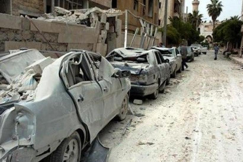 Syria suicide bombings