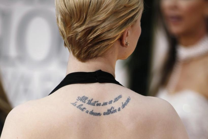 From Angelina Jolie to Rachel Wood: Most Famous Tattoo Celebrities