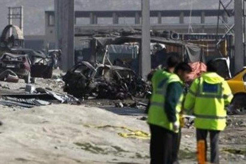 Afghanistan bombings