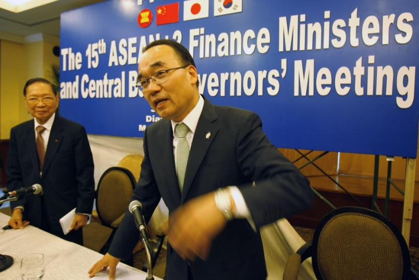 Asean+3, South Korean Finance Minister Bahk Jae-wan