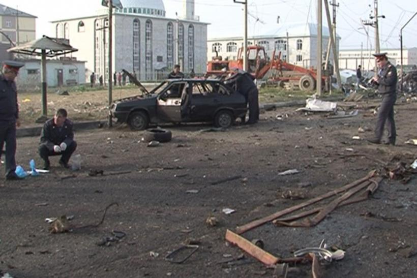 Twin Blasts Kill 12 In Russia's Troubled North Caucasus Region