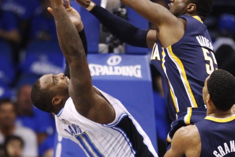 The Orlando Magic and Indiana Pacers square off at 2 p.m. ET.