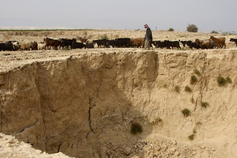 2010 Sinkhole Near Dead Sea