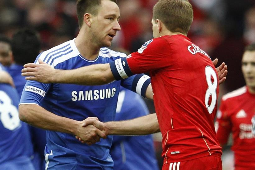 John Terry and Steven Gerrard