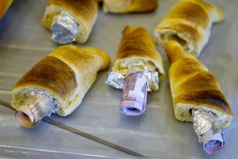 Smuggling Money In Pastries