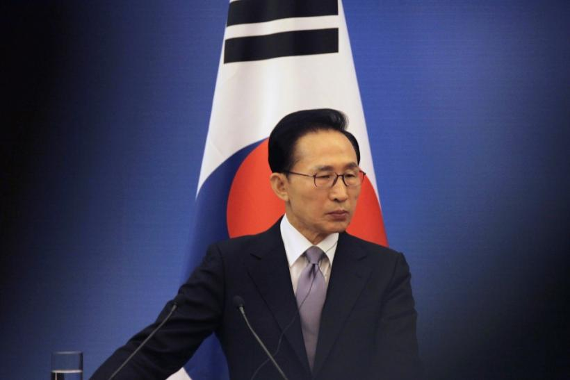 South Korean President Lee Myung-bak