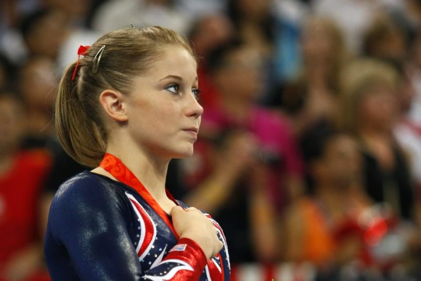 Shawn Johnson at the 2008 Beijing Olympics