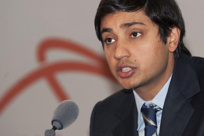 ArcelorMittal Chief Financial Officer Aditya Mittal.