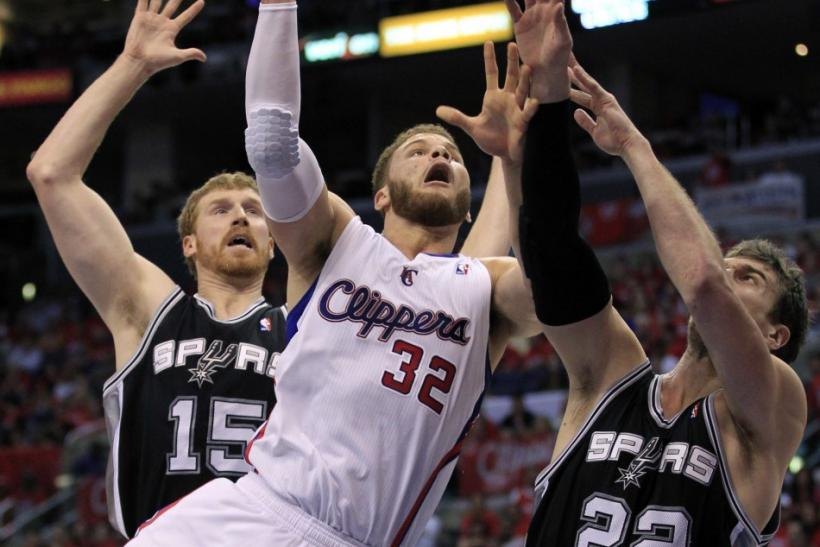 The Clippers take on the Spurs at 10:30 p.m. ET.