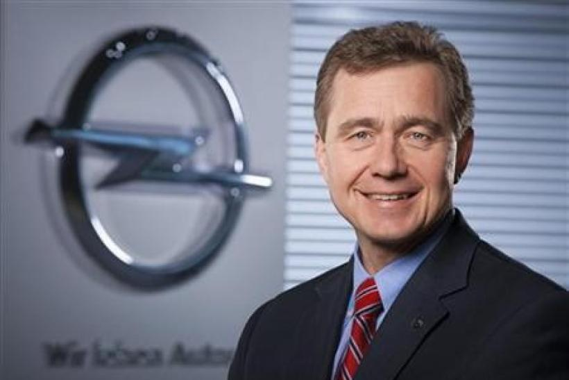 Karl-Friedrich Strack, head of General Motors unit Opel