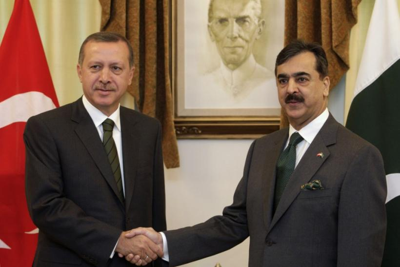 Erdogan and Gilani