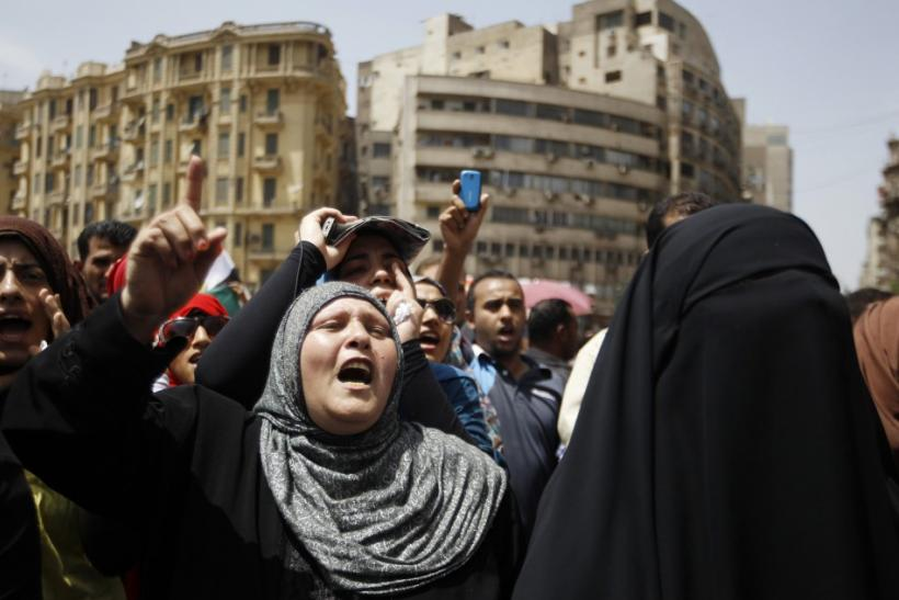 Cairo Protesters Gathered on Sunday