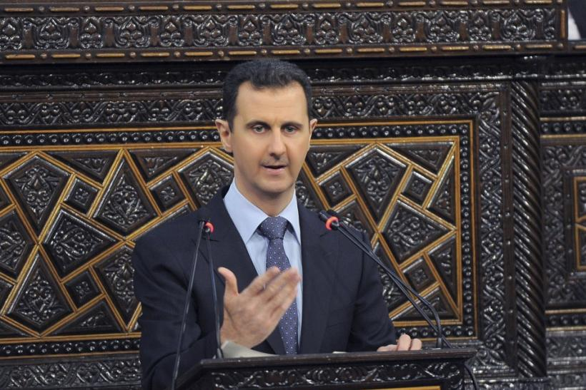 President Bashar al-Assad refuses foreign solution to the Syrian conflict