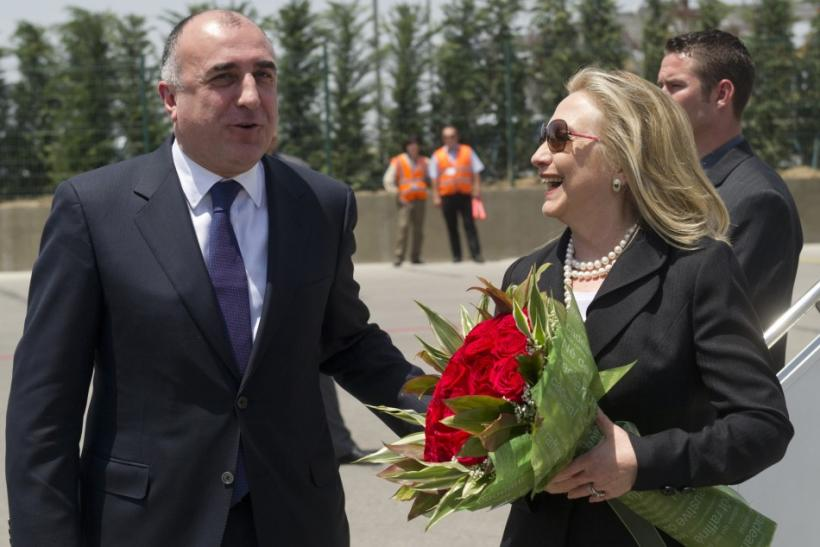 Mammadyarov and Clinton