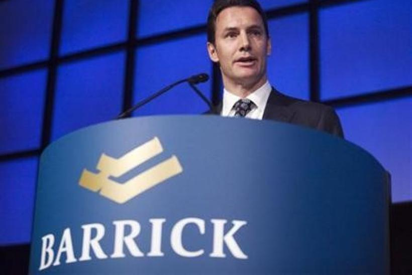 Barrick ousts CEO, aiming to spur share price