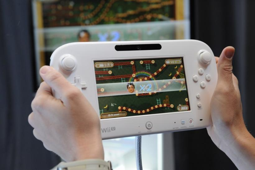 The Wii U GamePad