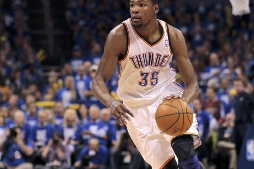 reputable site 91c90 2b1b0 2012 NBA Finals  Five Things the Thunder Must Do To Beat The Heat