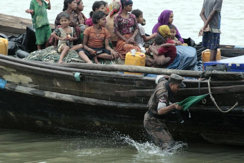 Boat-people to Bangladesh: