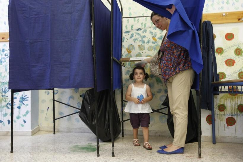 Greek Vote 6/17/12