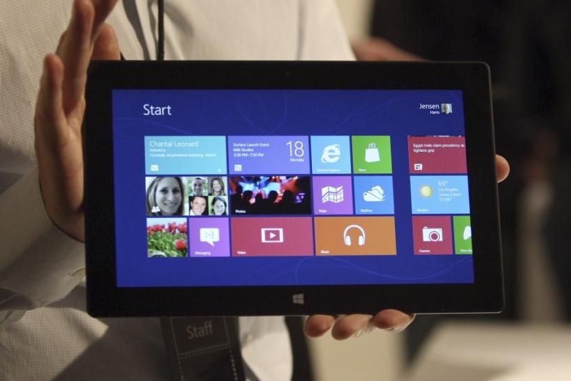 Microsoft Surface Tablet Unveiled: Everything To Know About The New Windows 8 Tablet, From Price To Features