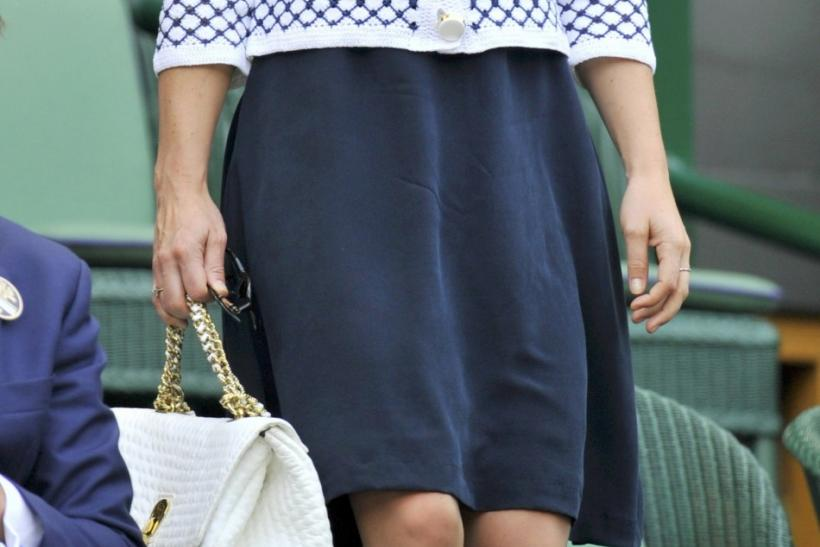 Pippa Middleton at Wimbledon 2012