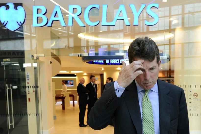 Barclays plc chief executive Bob Diamond