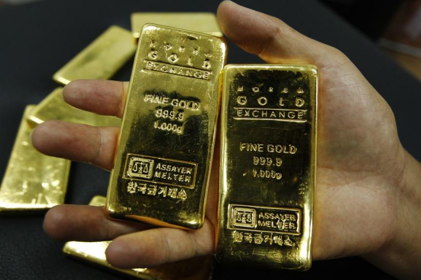 Gold Rises As ECB Comments Lift Euro, Stocks