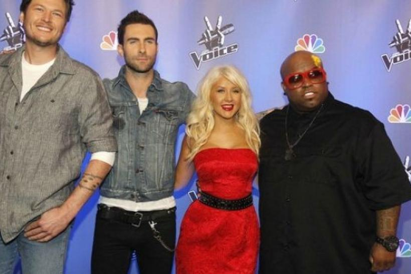 The judges for 'The Voice'