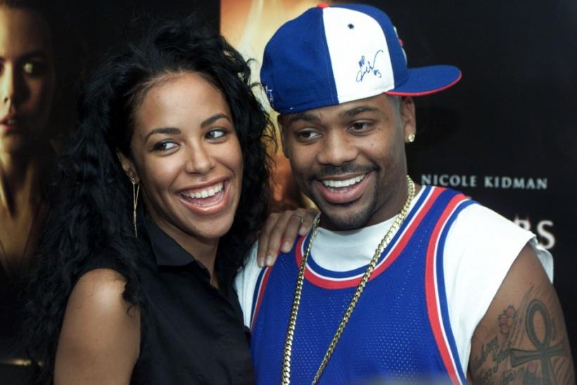 Aaliyah and Damon Dash