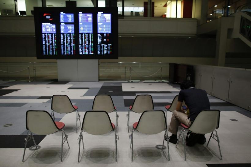 The Tokyo Stock Exchange saw some trading interrupted during pre-market action.