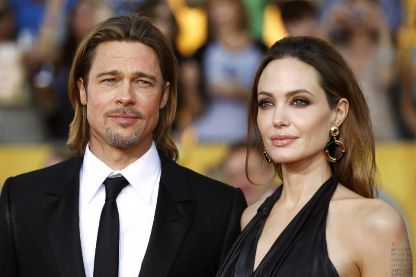 Angelina Jolie and Brad Pitt support Ann Curry