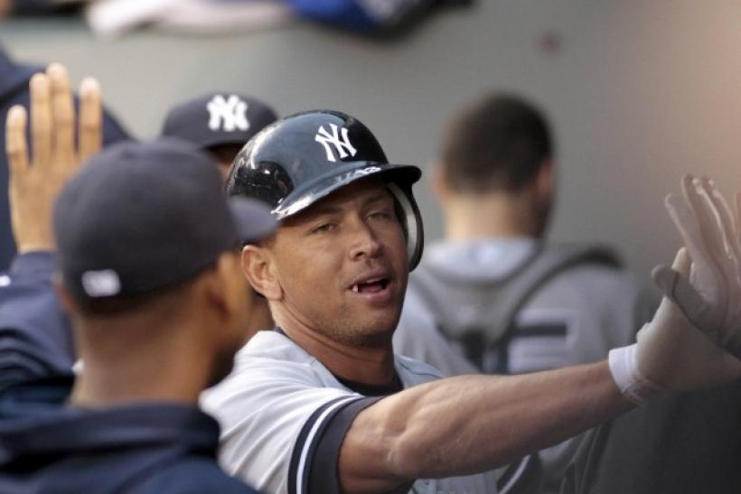 Alex Rodriguez was traded to the Yankees in 2004.