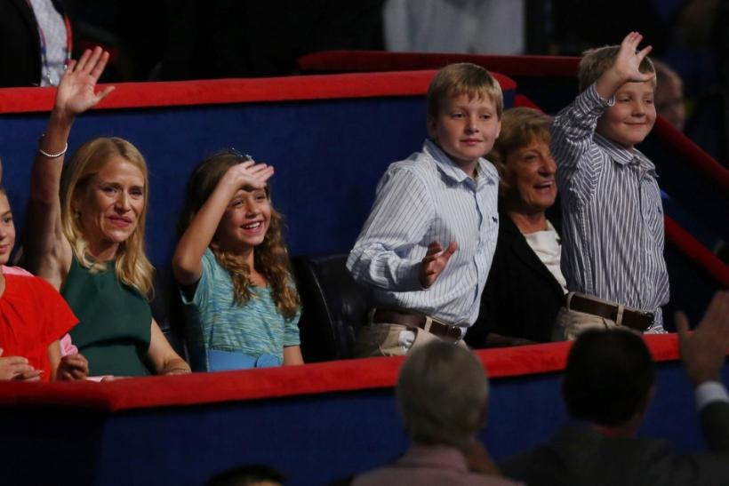 Ryan family at RNC