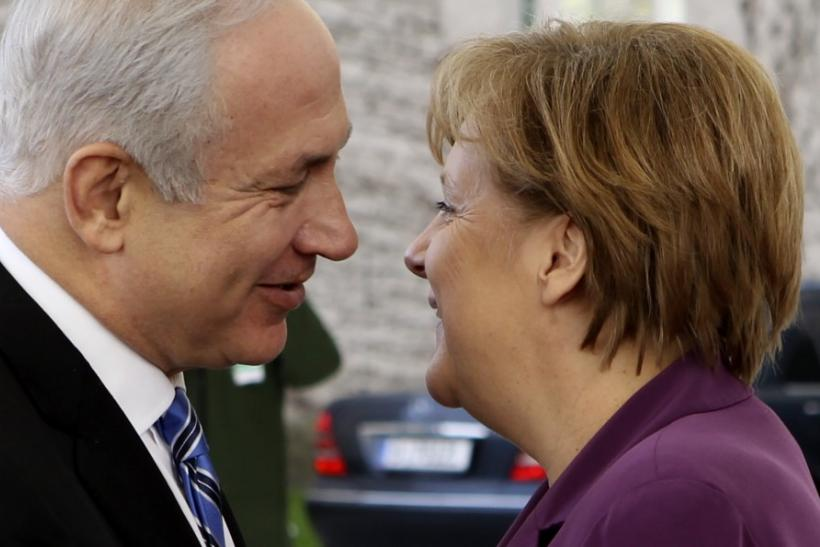 Merkel And Netanyahu
