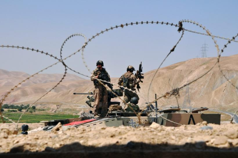 Afghanistan allied forces Germany NATO