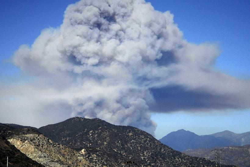 Labor Day Weekend Visitors Evacuated From Angeles National Forest Following Wildfire (PHOTOS)