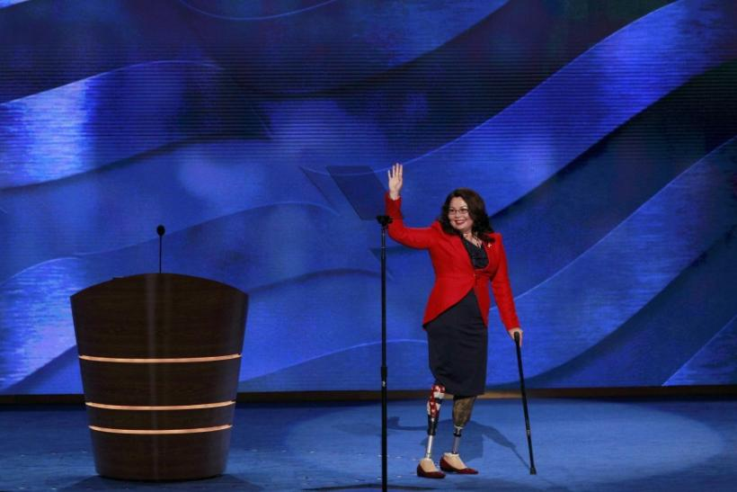 Tammy Duckworth Cheered in Democratic National Convention (Photos)