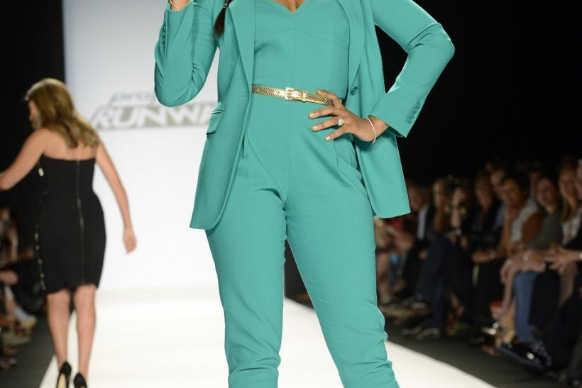 Jennifer Hudson at Project Runway