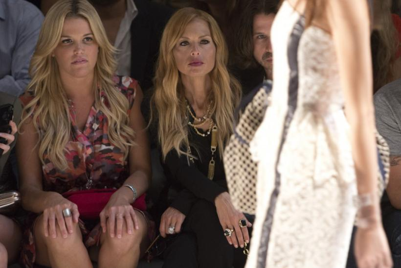 Ali Wise and Rachel Zoe at Charlotte Ronson